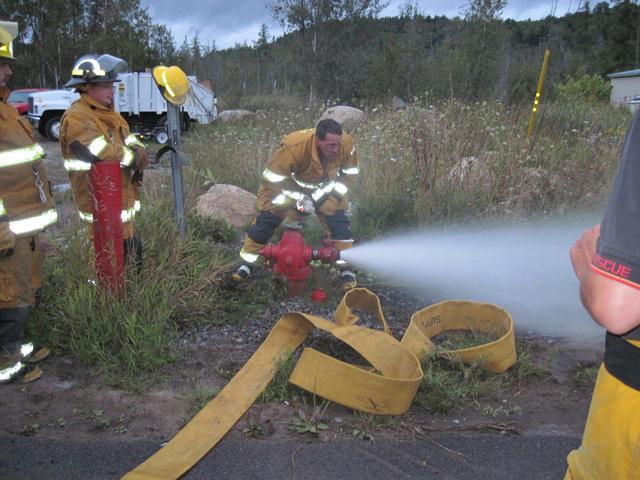 fire hydrant trening