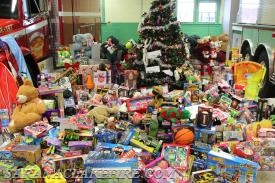 The Saranac Lake Community Gave Big Time!!! A HUGE PILE OF TOYS!!!