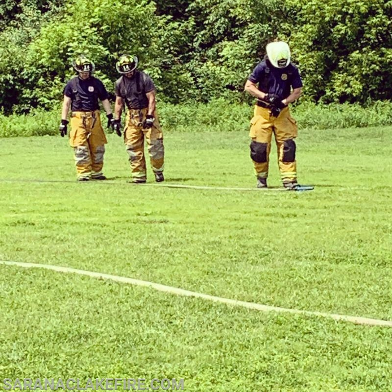 SLVFD competes at the 123rd Northern NY Volunteer Fireman's Association convention