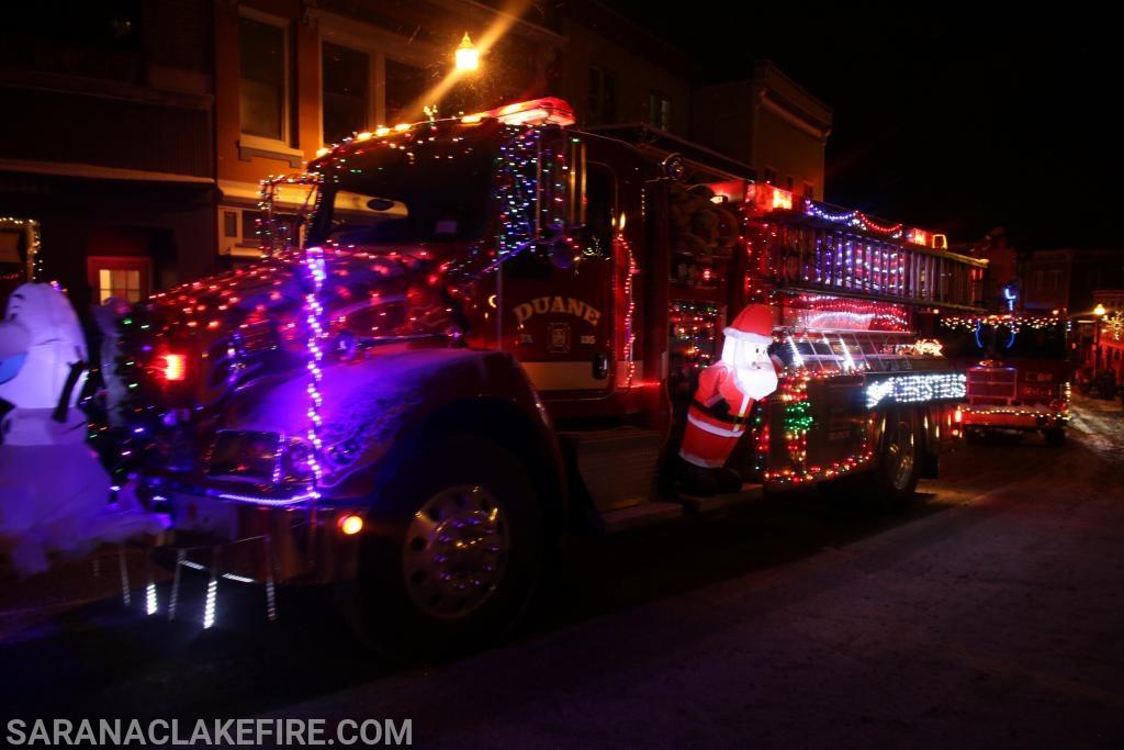 Defending Champion  2018 Best Fire Truck!!! Duane Volunteer Fire Department