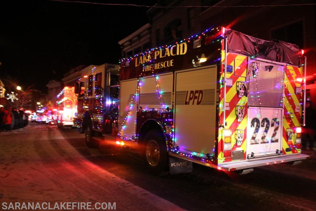 Winner 2019  Best Fire Truck!!! Lake Placid Volunteer  Fire Department