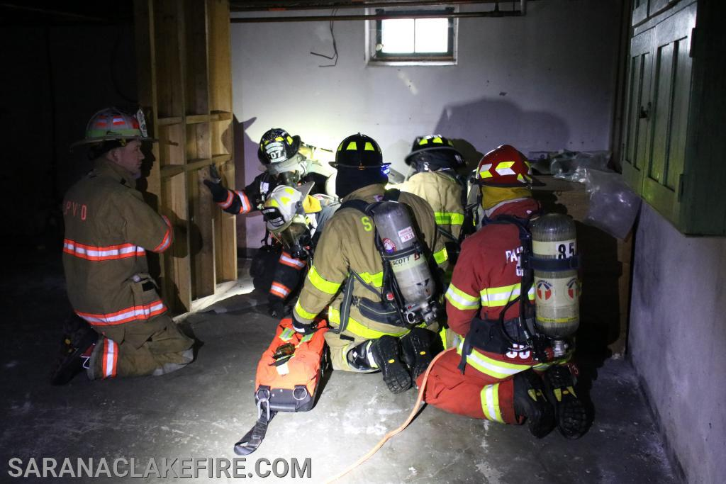 RIT team responding to a Mayday